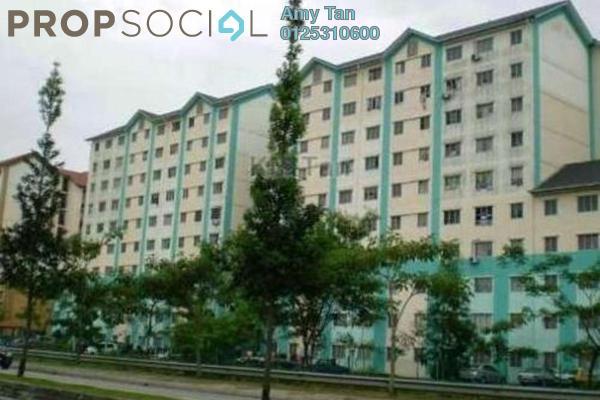 For Sale Apartment at Enggang Apartment, Bandar Kinrara Freehold Unfurnished 0R/0B 126k