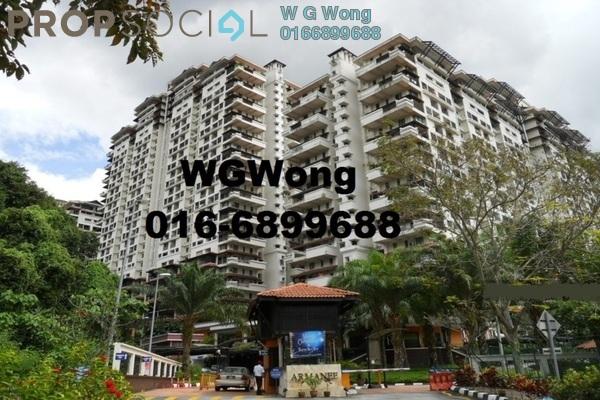 For Rent Duplex at Armanee Condominium, Damansara Damai Freehold Semi Furnished 4R/3B 1.45k