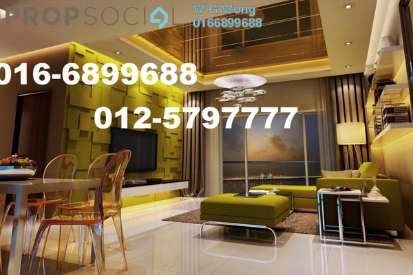 For Sale Condominium at Tropicana Bay Residences, Bayan Indah Freehold Fully Furnished 3R/2B 750k