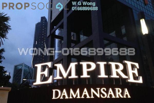 For Rent SoHo/Studio at Empire Damansara, Damansara Perdana Freehold Fully Furnished 1R/1B 1.15k
