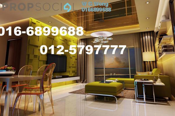 For Rent Condominium at Penang World City, Batu Uban Freehold Fully Furnished 3R/2B 2.55k