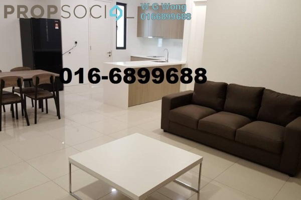 For Rent Serviced Residence at Tropicana Gardens, Kota Damansara Freehold Fully Furnished 2R/2B 3k