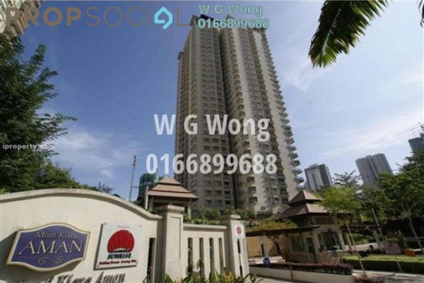 For Sale Condominium at Mont Kiara Aman, Mont Kiara Freehold Fully Furnished 4R/3B 1.89m