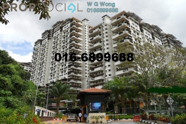 For Rent Duplex at Armanee Condominium, Damansara Damai Freehold Fully Furnished 4R/3B 1.95k