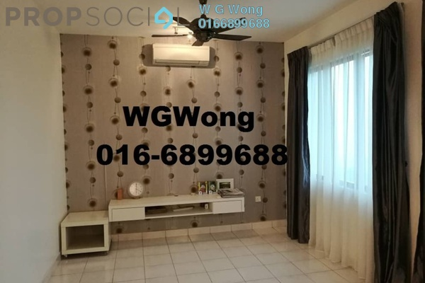 For Rent Duplex at Armanee Condominium, Damansara Damai Freehold Semi Furnished 4R/3B 1.7k