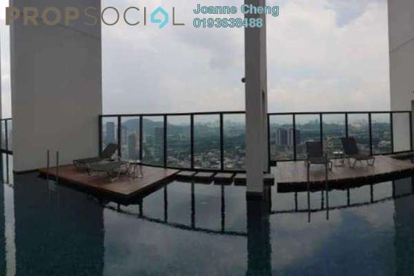For Sale Serviced Residence at The Hub, Petaling Jaya Freehold Semi Furnished 2R/2B 1.18m