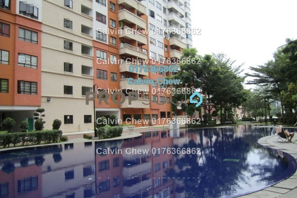 For Sale Condominium at Vista Millennium, Puchong Freehold Unfurnished 0R/0B 370k