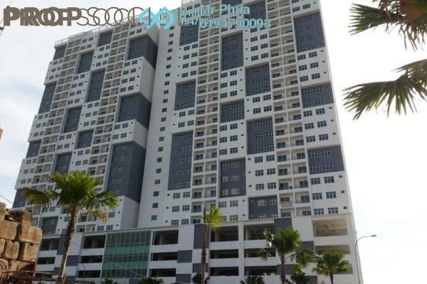 For Rent Condominium at Pinang Laguna, Seberang Jaya Freehold Fully Furnished 3R/2B 1.1k