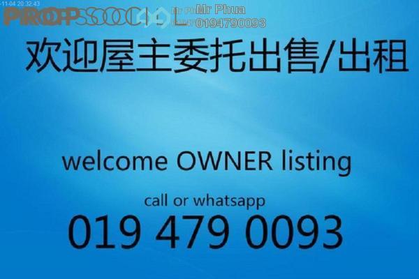 For Rent Condominium at Palma Laguna, Seberang Jaya Freehold Unfurnished 3R/2B 1.1k