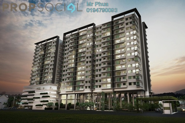 For Sale Condominium at SeventyNine Residence, Bukit Mertajam Freehold Unfurnished 3R/3B 470k