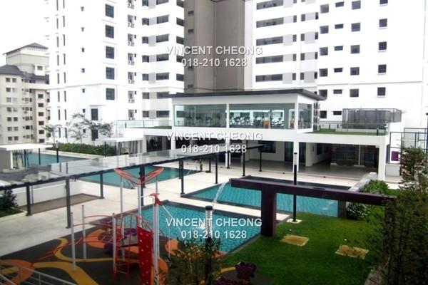 For Sale Condominium at Papillon Desahill, Taman Desa Freehold Semi Furnished 3R/4B 1.17m