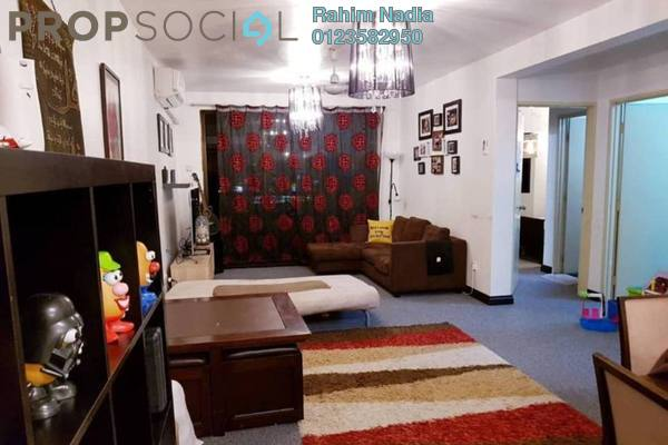For Rent Condominium at Putra Villa, Gombak Freehold Fully Furnished 3R/2B 1.9k