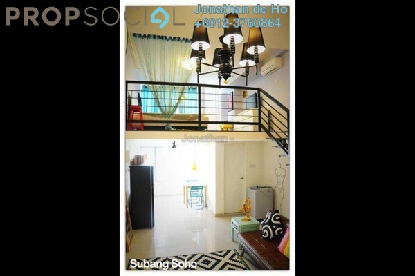 For Sale SoHo/Studio at Subang SoHo, Subang Jaya Freehold Fully Furnished 1R/1B 470k