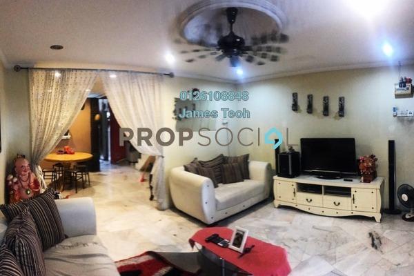 For Sale Terrace at Taman Sentosa, Klang Freehold Semi Furnished 3R/2B 308k