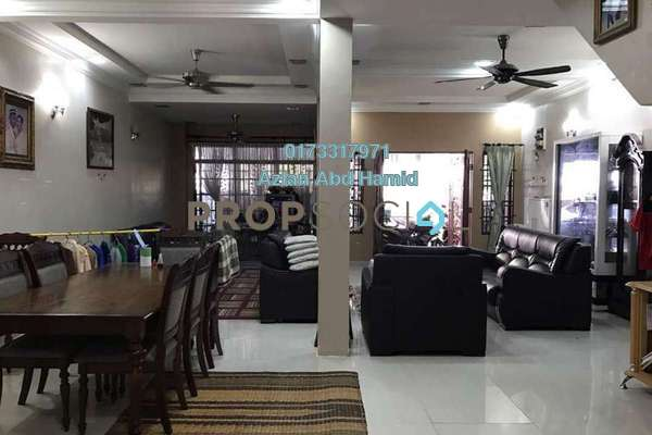 For Sale Terrace at Taman Ampang Indah, Ampang Freehold Semi Furnished 4R/3B 800k