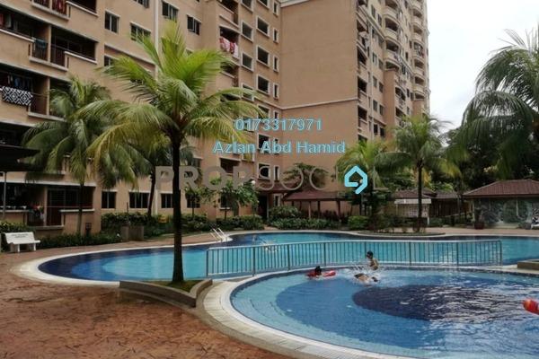 For Sale Condominium at Cengal Condominium, Bandar Sri Permaisuri Freehold Semi Furnished 3R/2B 400k
