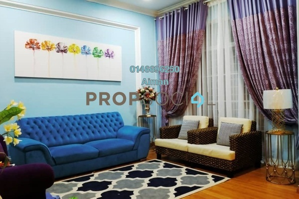 For Sale Terrace at Bukit Bandaraya, Shah Alam Freehold Semi Furnished 4R/3B 570k