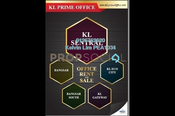 For Rent Office at Q Sentral, KL Sentral Freehold Unfurnished 1R/1B 6.83k