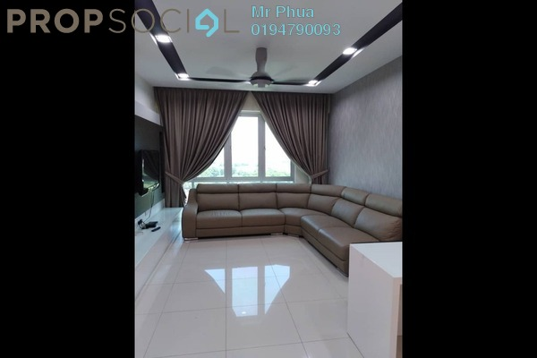 For Rent Condominium at Goodfields Residence, Bukit Minyak Freehold Fully Furnished 3R/2B 1.7k