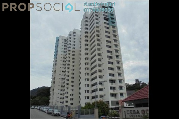 For Sale Apartment at Desa Golf, Bukit Jambul Freehold Unfurnished 0R/0B 450k