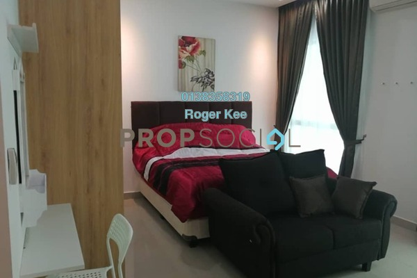 For Rent SoHo/Studio at CyberSquare, Cyberjaya Freehold Fully Furnished 0R/1B 1.3k