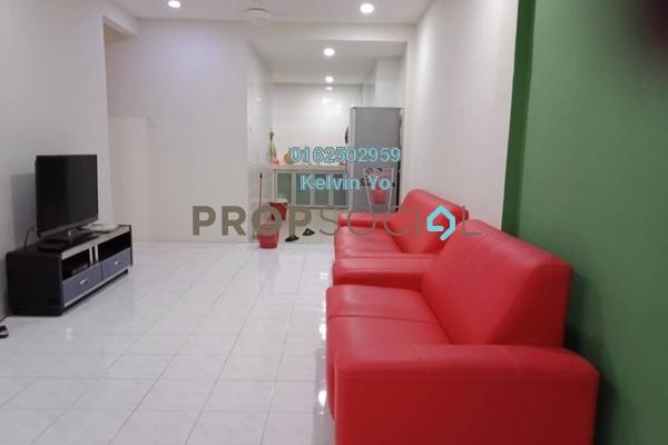For Rent Apartment at Indah Condominium, Damansara Damai Freehold Fully Furnished 3R/2B 1.1k