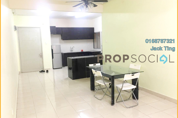 For Rent Condominium at Platinum Hill PV8, Setapak Freehold Fully Furnished 4R/2B 2k