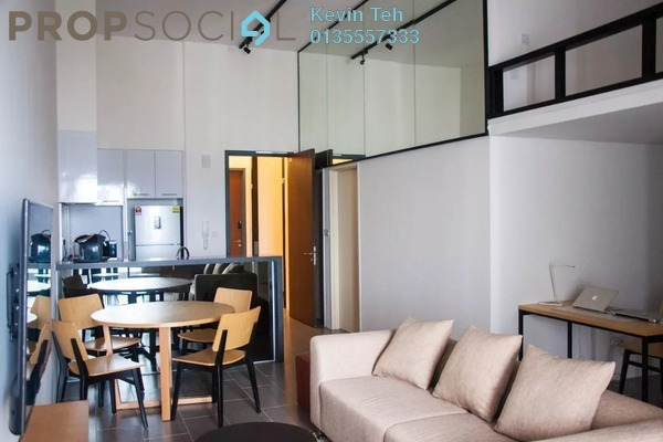 For Rent Condominium at The Establishment, Brickfields Freehold Fully Furnished 2R/2B 5.5k