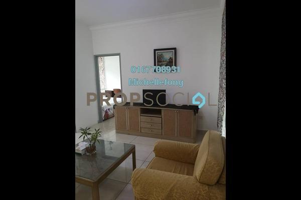 For Rent Serviced Residence at Golden Sands Seaview Residence Suites, Johor Bahru Freehold Fully Furnished 4R/3B 3.4k
