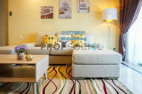 For Rent Serviced Residence at R&F Princess Cove, Johor Bahru Freehold Fully Furnished 2R/1B 2.8k