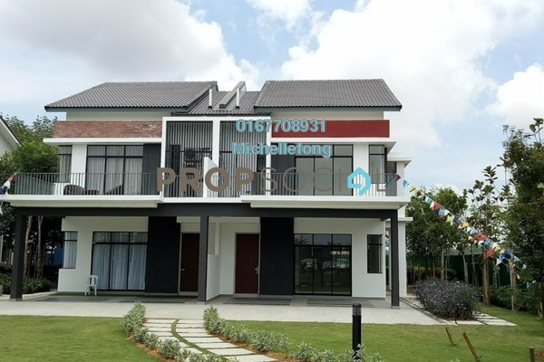 For Sale Terrace at Meridin East, Pasir Gudang Leasehold Unfurnished 4R/3B 581k