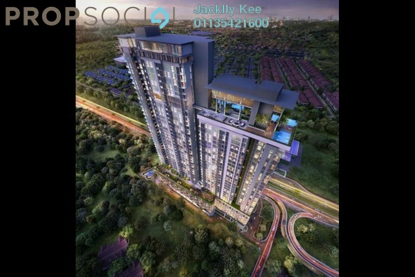 For Sale Condominium at Waltz Residences, Kuala Lumpur Freehold Unfurnished 3R/4B 1.28m