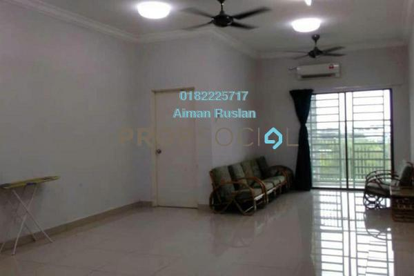For Sale Condominium at Kristal View, Shah Alam Freehold Unfurnished 4R/2B 450k