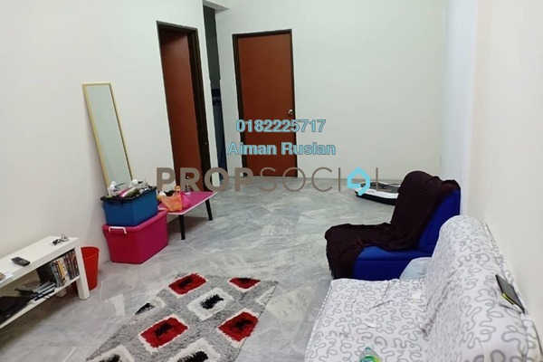 For Sale Apartment at Seri Mawar Apartment, Bandar Seri Putra Freehold Unfurnished 3R/2B 180k