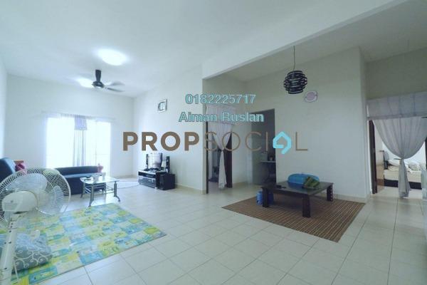 For Sale Condominium at Embun Residence @ Taman Puncak Saujana, Kajang Freehold Semi Furnished 3R/2B 350k