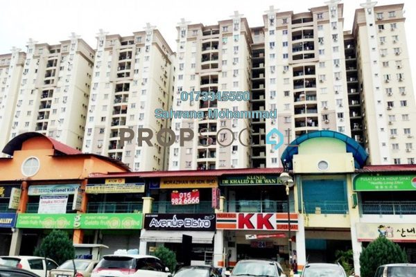 For Sale Condominium at Sri Ampang Mas, Ampang Freehold Unfurnished 4R/2B 390k