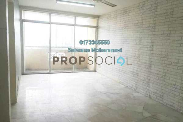 For Sale Apartment at Dahlia Apartment, Setapak Leasehold Unfurnished 3R/2B 308k