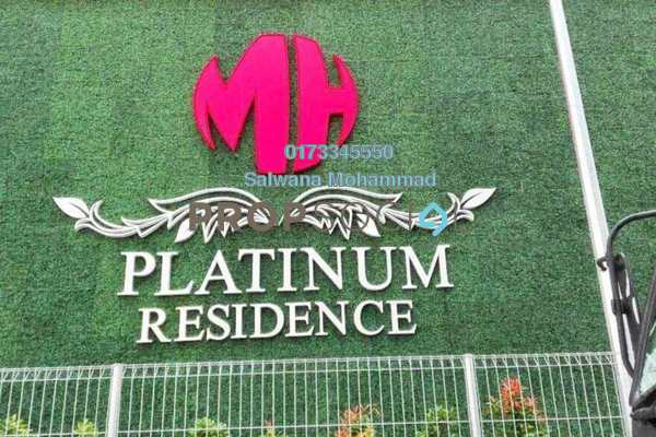 For Sale Condominium at MH Platinum Residency, Setapak Freehold Unfurnished 3R/2B 497k