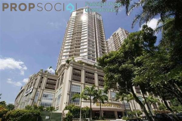 For Rent Condominium at Waldorf Tower, Sri Hartamas Freehold Semi Furnished 3R/3B 3.2k