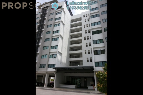 For Sale Apartment at Suria Rafflesia, Setia Alam Freehold Unfurnished 3R/2B 290k