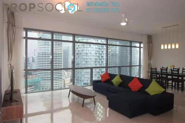 For Rent Condominium at Panorama, KLCC Freehold Fully Furnished 3R/3B 9k