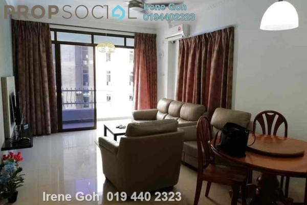 For Rent Condominium at Villa Ria, Tanjung Bungah Freehold Fully Furnished 3R/2B 2.8k
