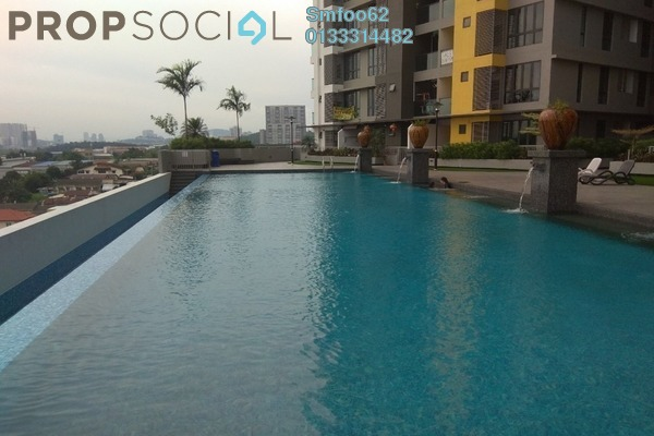 For Rent Condominium at Silk Sky, Balakong Freehold Fully Furnished 3R/2B 1.7k