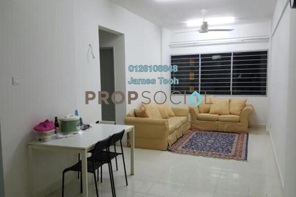 For Sale Apartment at Suria Rafflesia, Setia Alam Freehold Semi Furnished 3R/2B 290k