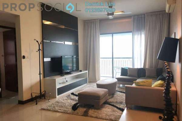For Rent Condominium at Nautica Lake Suites @ Sunway South Quay, Bandar Sunway Freehold Fully Furnished 3R/3B 4.6k