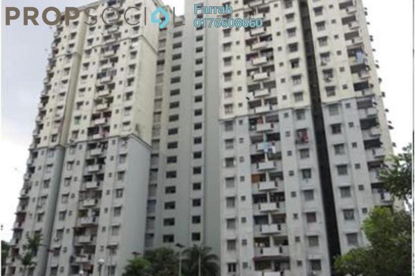 For Sale Apartment at Menara Orkid, Sentul Freehold Unfurnished 0R/0B 270k