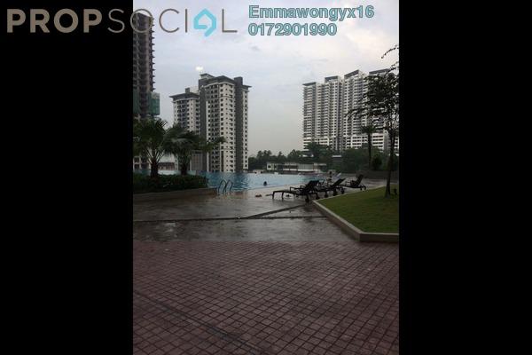 For Sale Condominium at Scenaria, Segambut Freehold Semi Furnished 3R/3B 750k