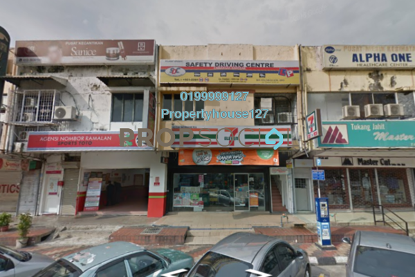For Rent Shop at Lucky Garden, Bangsar Freehold Unfurnished 0R/0B 2.5k