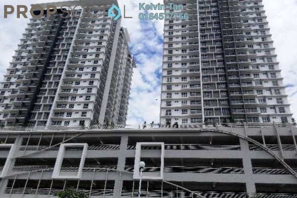 For Rent Condominium at Gardens Ville, Sungai Ara Freehold Semi Furnished 3R/2B 1k