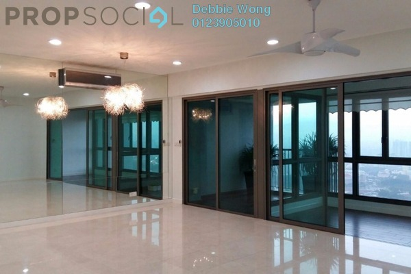 For Rent Condominium at Seni, Mont Kiara Freehold Semi Furnished 3R/4B 9.5k